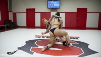 Rookie is creamed on the mats as she Creams ON the mats