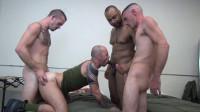 Three Big Cocks For Hot Sluts Ass