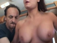 Big Breasted Kami Andrews Gets Dped In A Van
