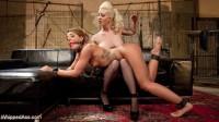 Big Booty Lesbian Slut: Bound, Spanked and Anally Dominated!