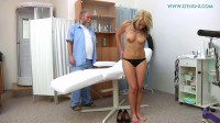 Sandra — 19 years girl gyno exam Pt1