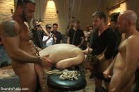 Sex in The Slaughter House (online, bondage, large, enema)