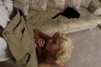 Blonde Slut Lexi Sucks A Black Rod