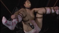 CMV-082 Female Prisoner Torture Chamber 2 Crying Whipped Diaper Slave Anal Abuse and Shame Training