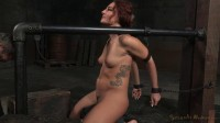 [Sexually Broken]Redhead Savannah Fox chained to a sybian