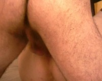 Chunky anal slut