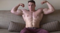 Pumping Muscle - Teen Bodybuilder Kent R Photoshoot 4