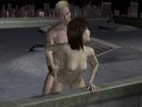 In the vastness of the night street sex