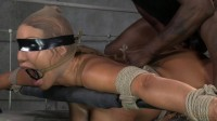 Giant titted Milf Ava Devine blindfolded bound and fucked