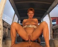 Redhead cougar slut alert