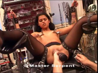 Brunette Hard Pussy And Tits Torture Part Four