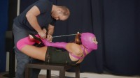 Pink Leg Warmer Hogtie