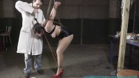 Superheroine Sahrye Captured, Bound, Gagged, Clamped! - Part 1