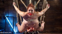 Big Beautiful Woman Bound and Electrosexed!