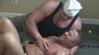 Buff And Bound - Brock Vinson Hogtie Terror