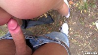 Sex With Amateur Czech Girl In A Park