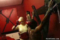 Painvixens — 19 May 2009 - Ebony Slave Bondage