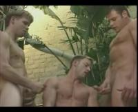 Military boys bareback