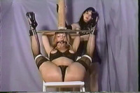She's Actually Bound In Rope And Her Mouth Has Been Covered To Prevent Screaming