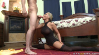 Blonde Lady With A Sexual Body
