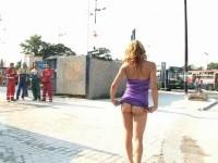 Extreme public piss #36