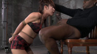 Tiny Asian Marica Hase gets bound and spanked