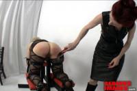 Mistress Liliane Hunt SubMissAnn Spanking Bench Part 2 (2013)