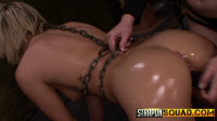 StraponSquad - Jan 06, 2015 - Riley Ray Plays with her Caged Pet Marina Angel