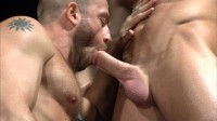 TitanMen Exclusive Hunter Marx with Casey Daniels and Archer Quan, and Troy Daniels and Jayden Grey