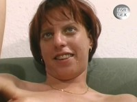 Vibrating dildo and pussy