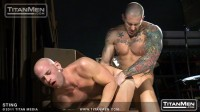 Harley Everett and Patrick Rouge - Sting Scene 2