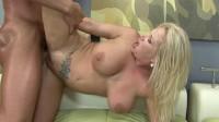 Busty blonde MILF adores hard fucking