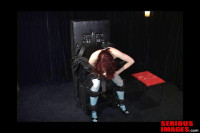 Clair Adams Meets The Sbi Bondage Chair Part 1