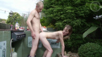 Young Skinny Blonde Fucked During BBQ (1080)