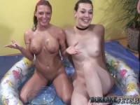 Bukkake with Shampoo & Arianna Sky - part 1