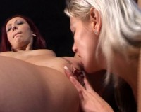Strap-on fucking for the lesbos