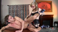 Nina Hartley — Strapon Correction