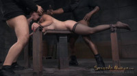 Bella Rossis show continues with breathplay rough fucking and brutal deepthroat (2015)
