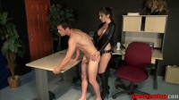 Fucked Over the Desk by His Boss