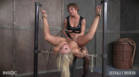 Madelyn Monroe — Super Hot Madelyn Tied With Legs Spread Wide and Tag Teamed By Couple! (2016)