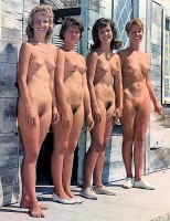 Retro nudist beauty contests