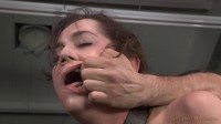 All natural Kasey Warner restrained and used hard by big dick with drooling brutal deepthroat