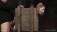SexuallyBroken — Mar 18, 2016 - Tiny blonde Odette Delacroix bound inside a box