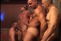 Husbands Orgy by night