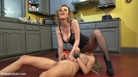 Whore In Training: Missy Minks anally submits to Cherry Torn!