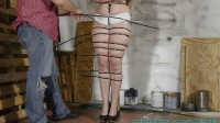 She Hops To The Workshop To Be Ziptied # 1 - FS