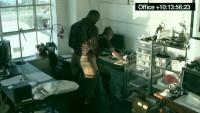 Office Sex Caught On Tape.