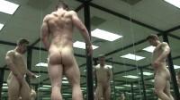 Pumping Muscle — Tyson B photo shoot.