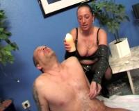 Femdom wax torture