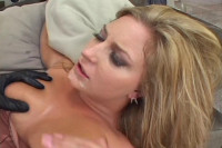 Avy Scott take a massive load and swallow!